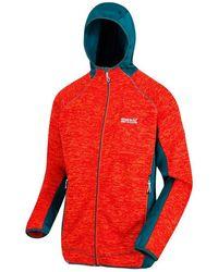 Regatta - S Cartersville VI Marl Knit Effect Fleece Jacket - Lyst