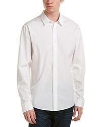 Vince - Reverse Placket Shirt - Lyst
