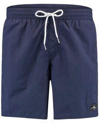 O'neill Sportswear Pantaloncini da Mare Vert per Uomo - Blu