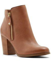 ALDO Naedia Ankle Boot, Cognac, 6 B Us - Brown