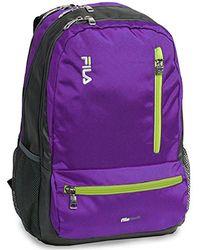 Fila - Nexus 5 Pocket School Laptop Tablet Backpack - Lyst