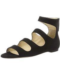 0e649ee0f973 HUGO - Dalia 10195652 01 Wedge Heels Sandals - Lyst