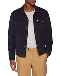 Levi's The Trucker Jacket Giacca in Jeans Uomo - Blu