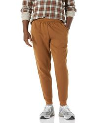 Amazon Essentials Fleece Jogger Pant Pantalones Casuales - Marrón