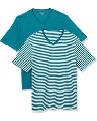 Amazon Essentials - 2-Pack Loose-Fit V-Neck T-Shirt Fashion-t-Shirts - Lyst