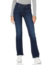 Levi's 725 High Rise Bootcut Jeans - Blue