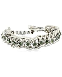 """Kenneth Cole - """"social Items"""" Faceted Bead Toggle Link Bracelet - Lyst"""