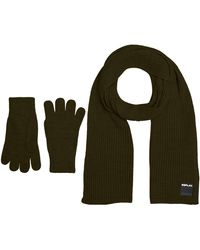 Replay Am8016.000.a7003a Winter Accessory Set - Green