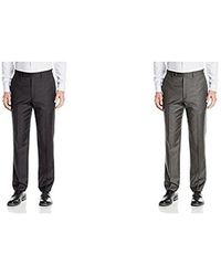 CALVIN KLEIN 205W39NYC - Modern Fit Flat Front Suit Separate Pant - Lyst