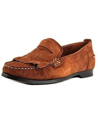 b19ebb3a2d4 Cole Haan - Pinch Grnd Pny Kltie Round Toe Suede Loafer - Lyst