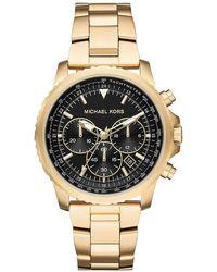 Michael Kors Reloj Cronógrafo para Hombre de Cuarzo con Correa en Acero Inoxidable MK8642 - Metálico