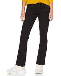 G-Star RAW Damen 3301 Mid Waist Bootcut Jeans - Schwarz
