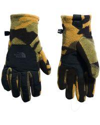 The North Face Gloves Denali Etip - Green