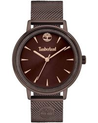 Timberland Analogue Quartz Watch With Metal Strap Tbl15961mybn.12mm - Brown