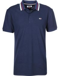 Tommy Hilfiger Polo Shirt Classics Collection Poloshirt - Blau