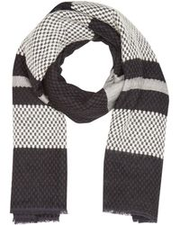Levi's Engineered Stripe Wrap Chal - Negro