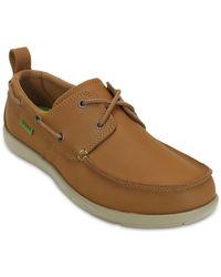 Crocs™ 15938 Walu Boat Shoe - Brown