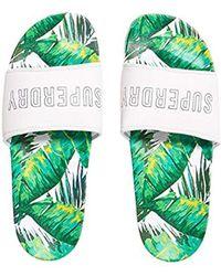 Superdry - Tropics Beach Slider Flip Flops - Lyst