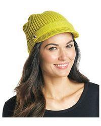 Michael Kors S Acid Lemon Peak Hat One Size - Yellow