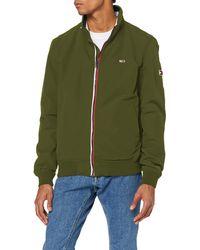 Tommy Hilfiger TJM Essential Bomber Jacket Sportjacke - Grün