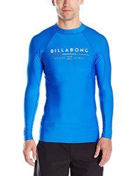 Billabong - All Day Regualr Fit Long Sleeve Rashguard - Lyst