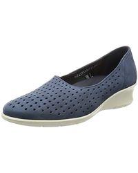 Ecco Felicia Summer Slip On Slip-on Loafer - Blue