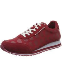 Desigual Shoes_Pegaso_logoman Sneaker - Rot