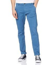 Tommy Hilfiger Tjm Scanton Chino Pant Trouser - Blue