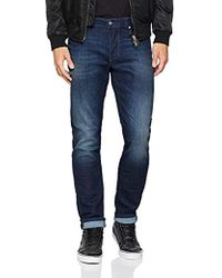 DIESEL Larkee-beex Tapered Fit Jeans - Blue