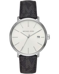 Michael Kors Lauryn Quartz Watch With Stainless Steel Strap, Two Tone, 16 (model: Mk4454) - Metallic