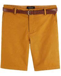 Scotch & Soda - Classic Garment-dyed Chino Short - Lyst