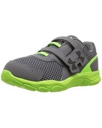 2577c35ad296 Under Armour - Boys  Infant Engage 3 Adjustable Closure Running Shoe - Lyst
