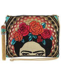 Mary Frances Beaded-embroidered Frida Crossbody Handbag