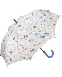 Esprit Easymatic Light Secret Garden Pocket Umbrella - Multicolour