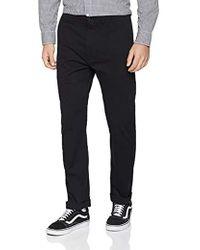 Levi's 502 True Chino Pantalones para Hombre - Negro