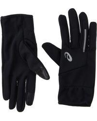 Asics Show 2 Running Gloves - Aw20 - Black