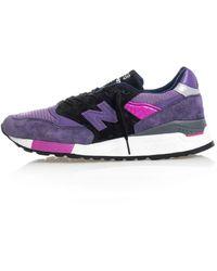 New Balance 998 Low-top Trainers - Purple