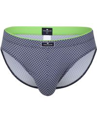 Tom Tailor Mini-Slip blau minimal 1er Pack 6 - Grau