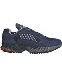 adidas Chaussures de Sport pour s Yung-1 Couleur Ink Indigo Gris Taille 44 2/3 - Bleu
