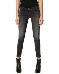DIESEL Skinzee-low-zip 0688f Jeans Trousers Skinny - Grey