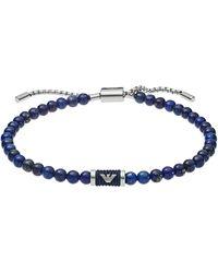 Emporio Armani Sans métal Bracelet en chaîne - EGS2612040 - Noir