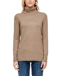 S.oliver 14.910.61.6233 Pullover - Natur