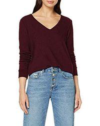Esprit T- Shirt Manches Longues - Rouge