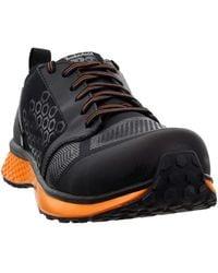 Timberland PRO Reaxion Composite Safety Toe Black/Orange 9 - Noir