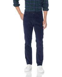 Goodthreads Slim-fit 5-pocket Comfort Stretch Corduroy Pant - Grey
