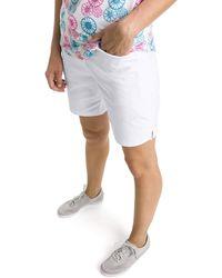 PUMA Pounce Bermuda Golf Shorts Bright White M