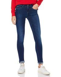 Tommy Hilfiger Hilfiger Denim Mid Rise Skinny Nora FDBST Jeans - Blu