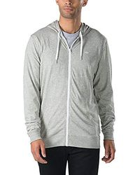 5432436d Jumper Hooded Zip Core Basics Knit Zip Hoodie - Gray