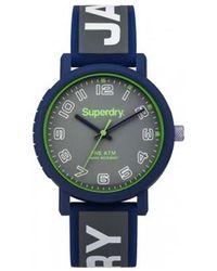 Superdry - S Analogique Quartz Montre avec Bracelet en Silicone SYG196E - Lyst