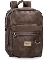 "Pepe Jeans Miller Brown Laptop 13,3"" Backpack"